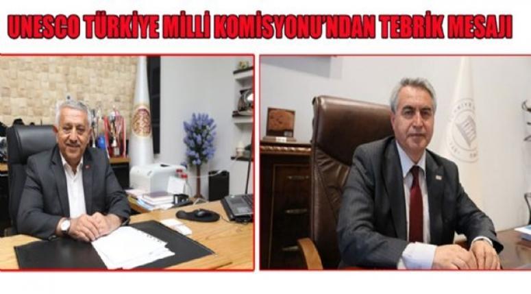 Unesco'ya bir tebrik´de Türkiye Milli Komisyonundan geldi