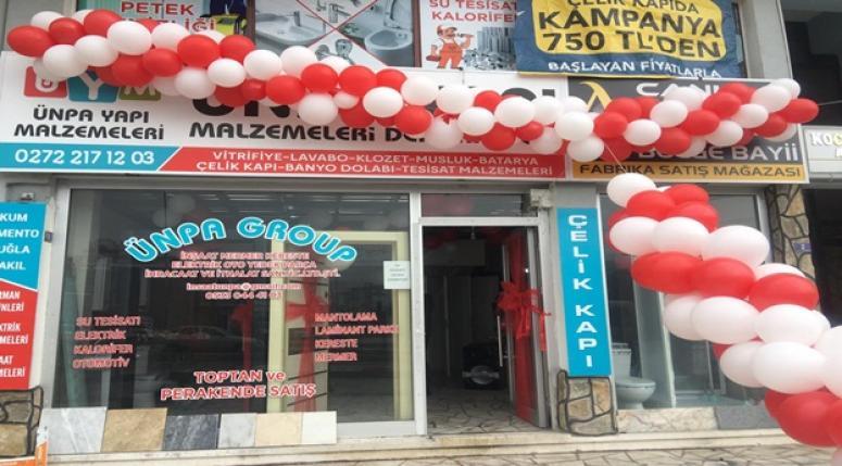 Hayırlı Uğurlu Olsun !! ÜNPA Yapı Malzemeleri Afyon'da açıldı !!