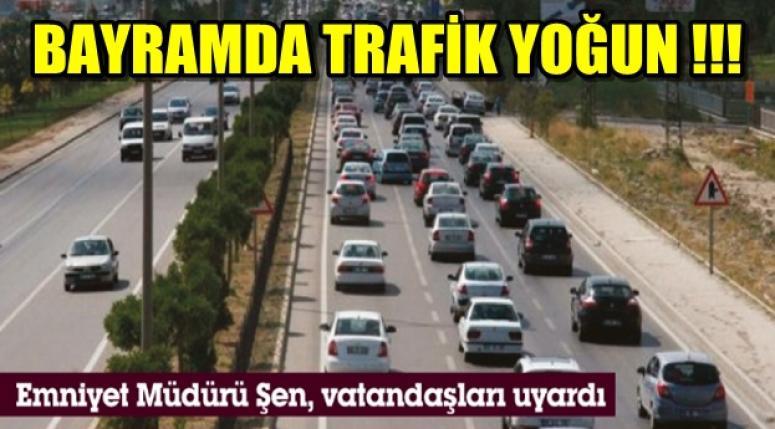 BAYRAMDA TRAFİK KURALLARINA UYALIM !!!