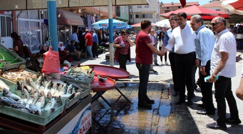 """UYSAL """"ÜLKEMİZDEKİ KUTUPLAŞTIRMAYI KALDIRACAĞIZ"""""""