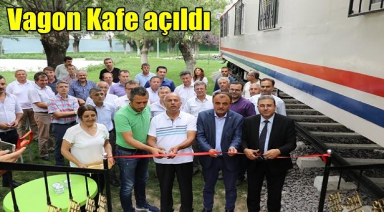 Afyon Haber - Vagon Kafe açıldı !!