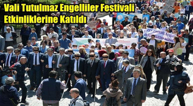 Afyonkarahisar Valisi Engelliler Festivali Etkinliklerine Katıldı