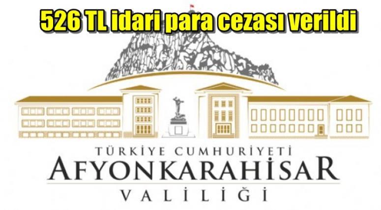 AFYON VALİLİĞİNDEN AÇIKLAMA !!!