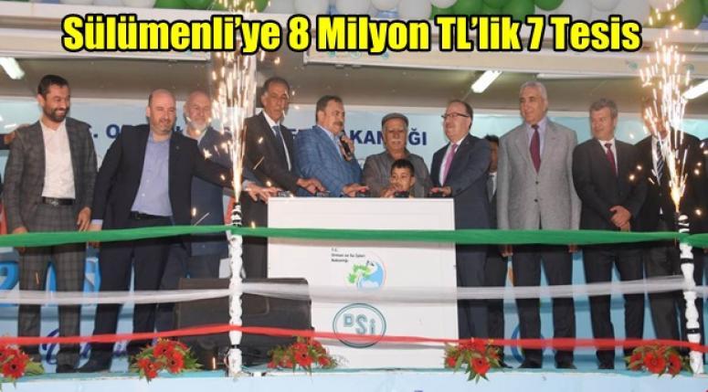 Afyonkarahisar'ın Sülümenli Belediyesi'ne 8 Milyon TL'lik 7 Tesis