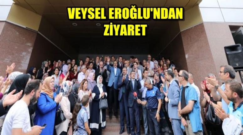 Veysel Eroğlu'ndan Afyon Belediyesine ziyaret !!!