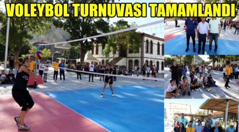 Afyon Voleybol Turnuvası sona erdi !!