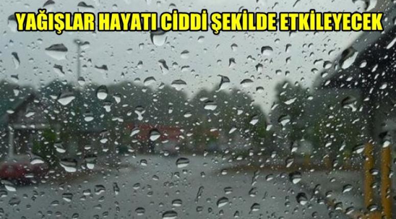 Yağışlar Hayatı Ciddi Şekilde Etkileyecek !!