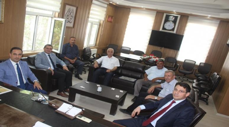 Ali Altuntaş'ı makamında ziyaret ettiler