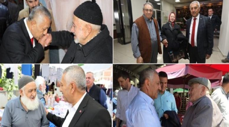 Mehmet Zeybek, Yaşlılar Günü mesajı yayımladı