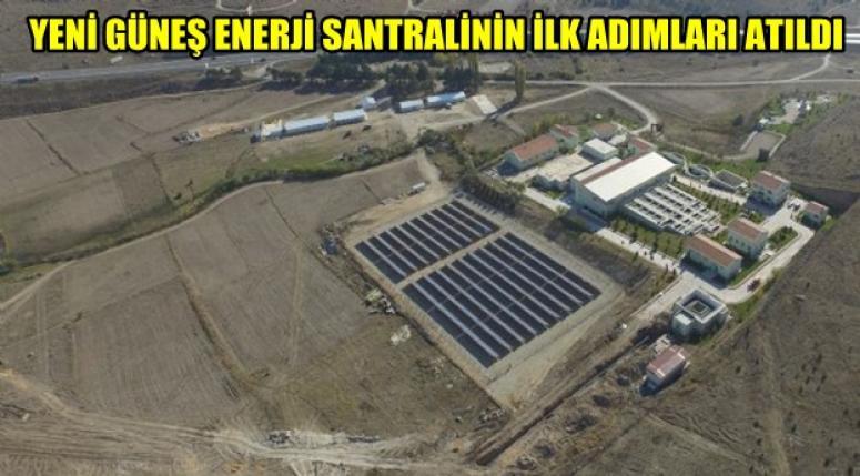 AFYON'DA GÜNEŞ ENERJİ SANTRALİNİN İLK ADIMLARI ATILDI