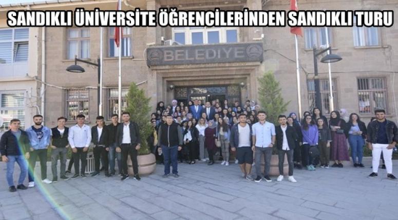 Sandıklı'ya yeni gelen öğrenciler Sandıklı'yı tanıdı !!