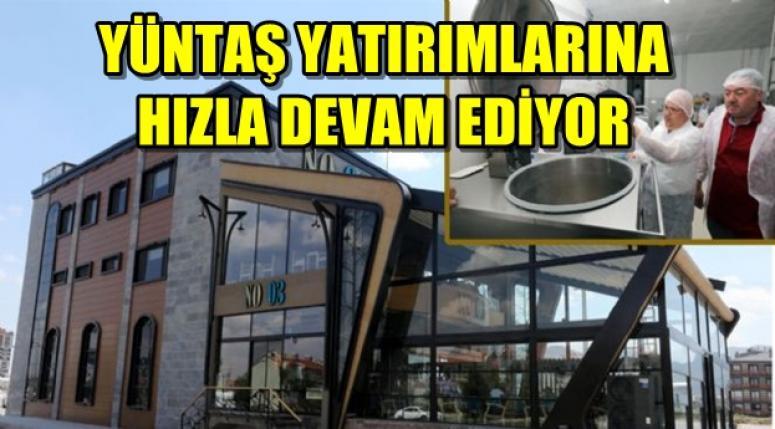 AFYON YÜNTAŞ YATIRIMLARINA HIZLA DEVAM EDİYOR !!!