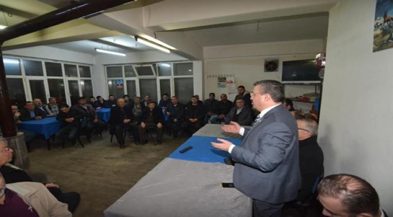 Milletvekili Yurdunuseven, Sandık'lı da vatandaşlar ile bir araya geldi