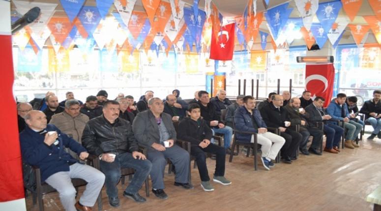 Yurdunuseven vatandaşlarla istişare toplantısı