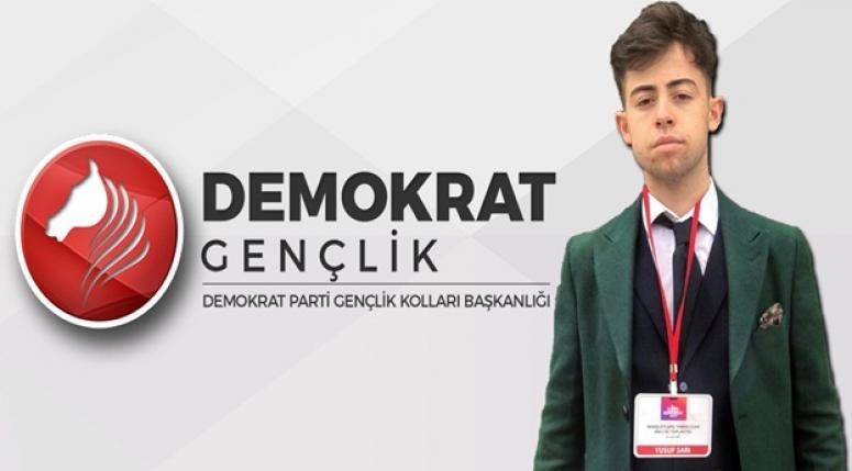Denizli'den Yusuf Sarı Demokrat Parti Gençlik Kolları Ege Bölge Koordinatörlüğüne atandı