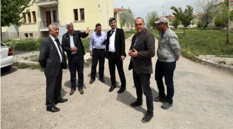 MEHMET ZEYBEK SORUNLARI YERİNDE İNCELEDİ !!
